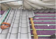 他の屋根材より重い